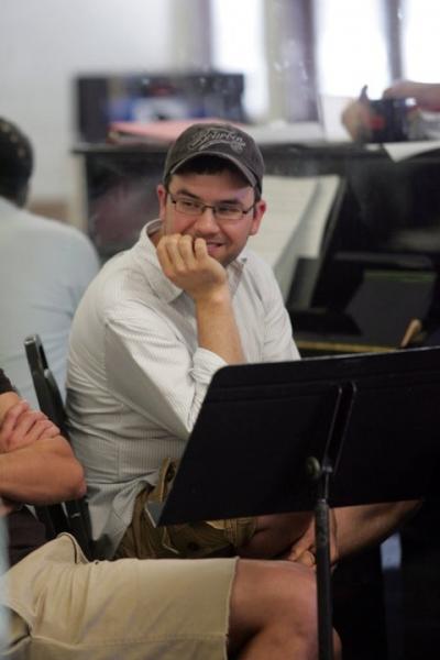 Brian Lowdermilk at In Rehearsal with Goodspeed's SAMANTHA BROWN