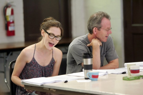 Photo Flash: In Rehearsal with Goodspeed's SAMANTHA BROWN