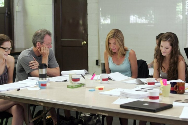 Kait Kerrigan, Stephen Bogardus, Catherine Porter and Meghann Fahy at In Rehearsal with Goodspeed's SAMANTHA BROWN