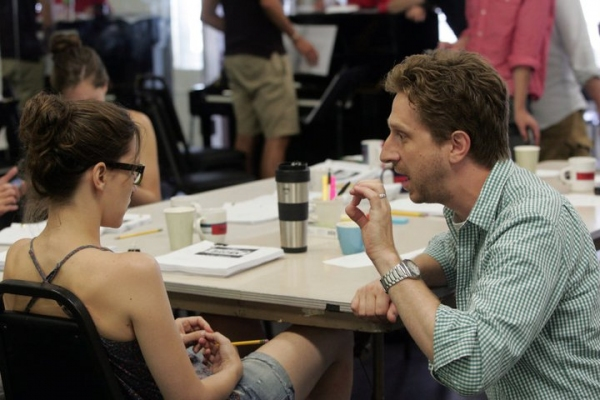 Kait Kerrigan, Daniel Goldstein at In Rehearsal with Goodspeed's SAMANTHA BROWN