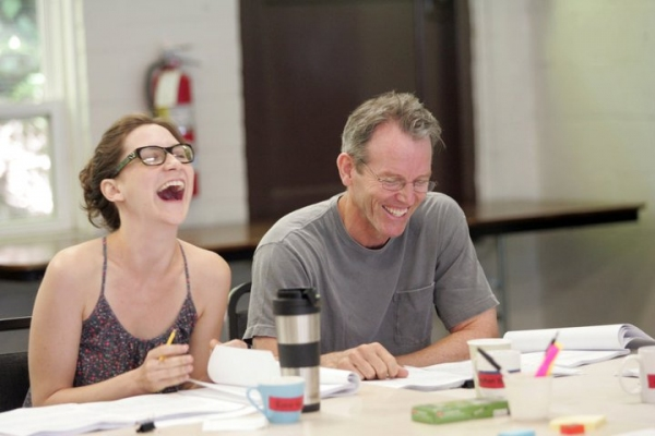 Kait Kerrigan at In Rehearsal with Goodspeed's SAMANTHA BROWN