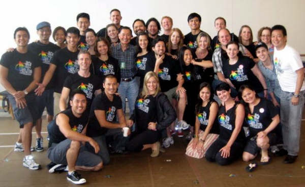 Photo Flash: Lea Salonga, Telly Leung and the Cast of ALLEGIANCE Surprise George Takei!