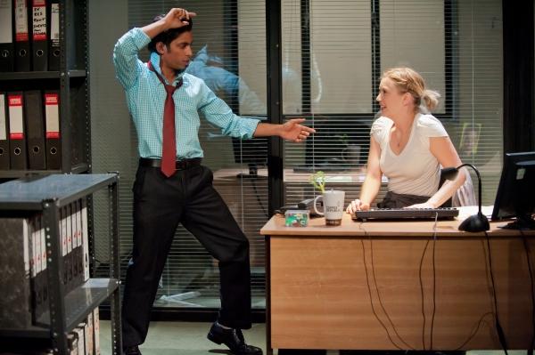 Shane Zaza as Elvis and Robyn Addison as Marie