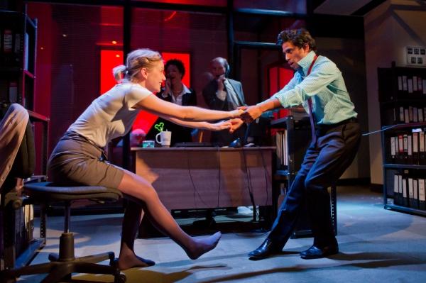 Robyn Addison as Marie and Shane Zaza as Elvis