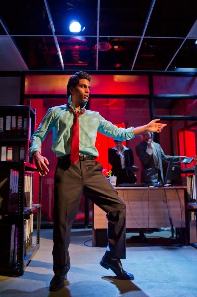 Shane Zaza as Elvis.