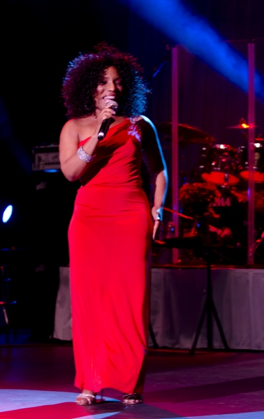 July 14, 2011 - Philadelphia, Pennsylvania, U.S. - Grammy Award Winner and star of stage and screen STEPHANIE MILLS performing live at the Dell East Music Center in Philadelphia. (Credit Image: © Ricky Fitchett/ZUMAPRESS.com) at Stephanie Mills Live in Philadelphia
