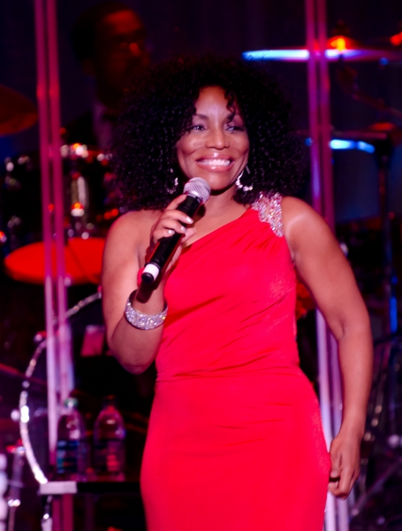 July 14, 2011 - Philadelphia, Pennsylvania, U.S. - Grammy Award Winner and star of stage and screen STEPHANIE MILLS performing live at the Dell East Music Center in Philadelphia. (Credit Image: © Ricky Fitchett/ZUMAPRESS.com)