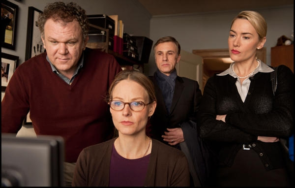 Kate Winslet, John C. Reilly, Jodie Foster and Christoph Waltz