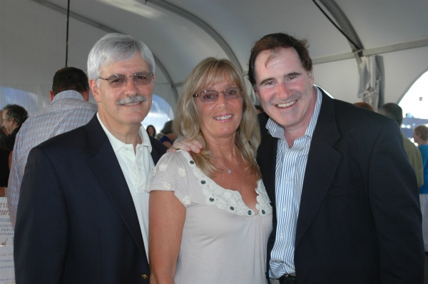 Chairman of the Board of Trustees Frank Filipo, actor and Board Member Richard Kind and Joanne Filipo.