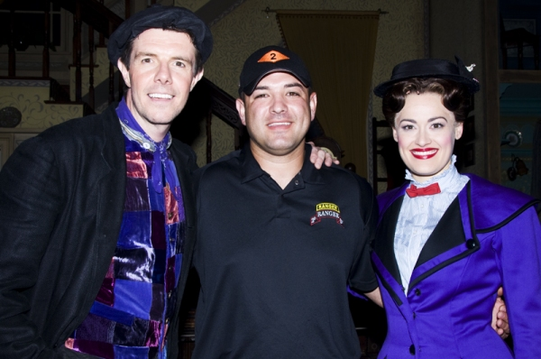Photo Coverage: Sergeant Leroy Petry Visits MARY POPPINS!