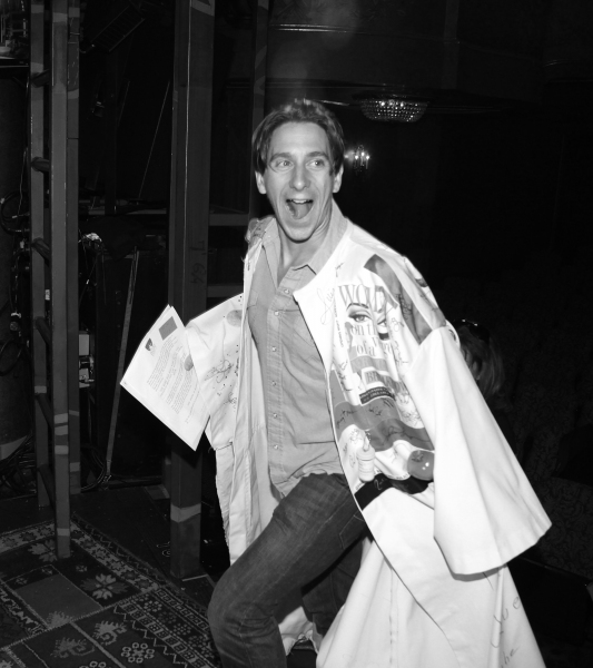 SPIDER-MAN TURN OFF THE DARK Gypsy Robe Recipient Luther Creek celebrating the Opening Night Gypsy Robe Ceremony for Recipient Arbender Robinson in 'Hair' at the St. James Theatre  in New York City.