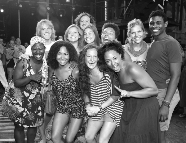 Photo Coverage: HAIR Gypsy Robe Ceremony!