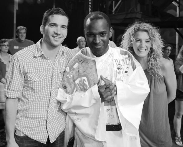 Paris Remillard, Arbender Robinson & Kacie Sheik celebrating the Opening Night Gypsy  Photo
