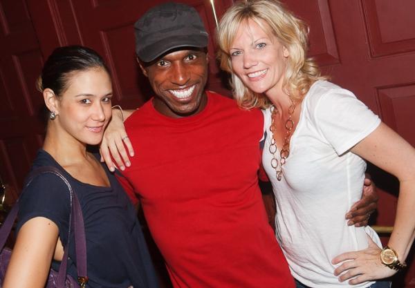 Ericka Hunter, Andre Ward, and Jenifer Foote