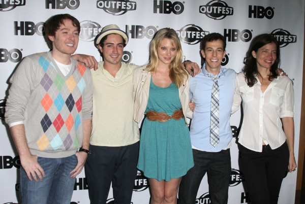 Clay Aikens, Ben Feldman, April Bowlby, Josh Berman, Jamie Babbit in attendance; The The 29th Aannual Los Angeles Gay & Lesbian Film Festival Presents a Screening and Panel Q&A of 'Drop Dead Diva' held at the Directors Guild in West Hollywood, California  at LA Gay & Lesbian Film Fest Presents 'Drop Dead Diva' Panel Q&A