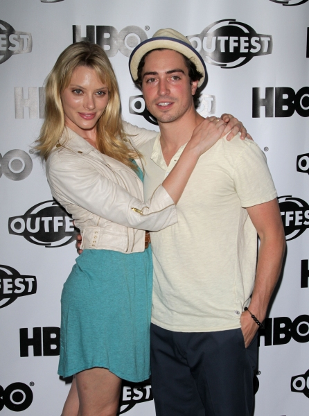 "April Bowlby, Ben Feldman in attendance; The The 29th Aannual Los Angeles Gay & Lesbian Film Festival Presents a Screening and Panel Q&A of ""Drop Dead Diva"" held at the Directors Guild in West Hollywood, California on July 17th, 2011.  © RD / Orchon /"