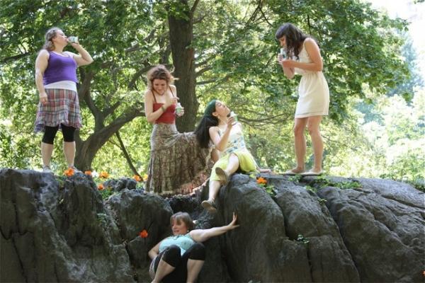 Sevrin Anne Mason, Jelena Stupljanin, Sara Thigpen, Maria Peyramaure, and Laura Ramadei