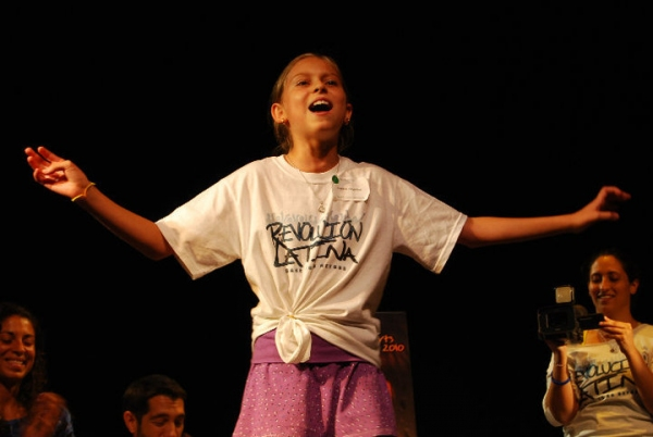 R.Evolución Latina's 'Dare to Go Beyond' Children's Performing Arts Camp Began Today