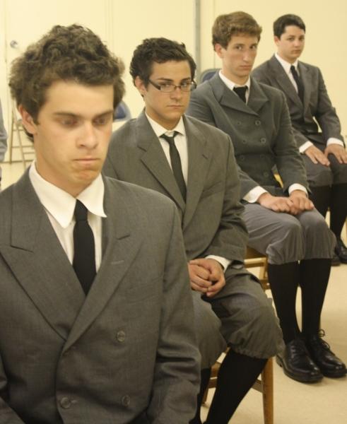 Photo Flash: Un-Common Theatre Begins Rehearsals For SPRING AWAKENING