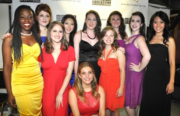 The Ladies of tonight's show- Morgan Billings Smith, Blair Goldberg, Mary Lane Haskell, Esther Kong, Gyu Jin Lim, Philippa Lynas, Jeanette Minson, Amanda Savan, Housso Semon and Courtney Simmons