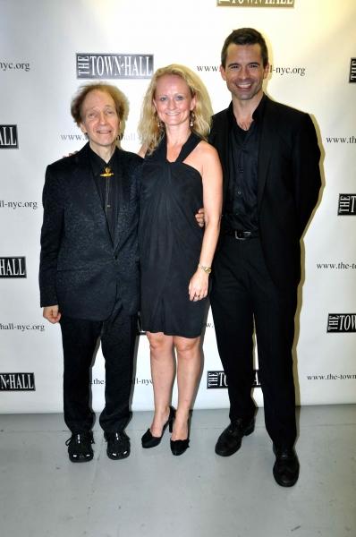 Scott Siegel, Vibecke Dahle and John Fischer (Musical Director)