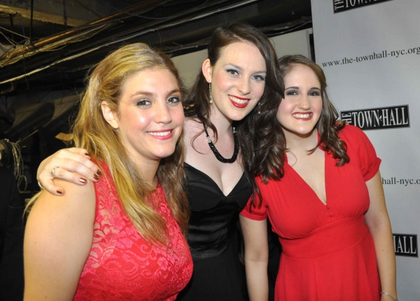Courtney Simmons, Philippa Lynas and Blair Goldberg