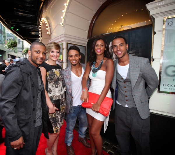 Jonathan JB Gill, Chloe Tangney, Aston Merrygold, Rochelle Wiseman, Marvin Humes
