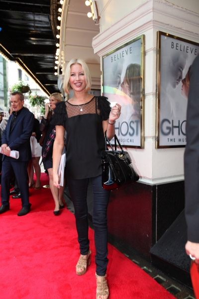 Denise Van Outen at GHOST THE MUSICAL Opening Night Red Carpet!