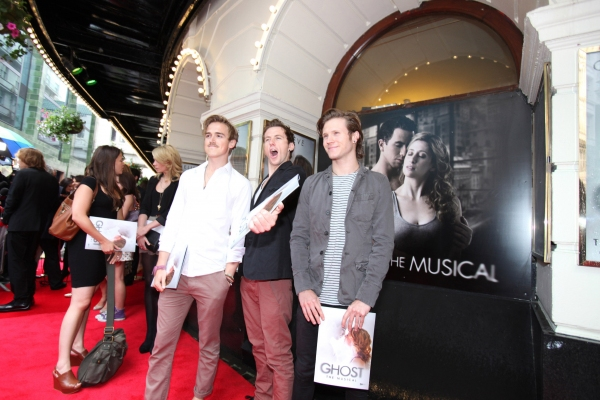 Photo Flash: GHOST THE MUSICAL Opening Night Red Carpet!