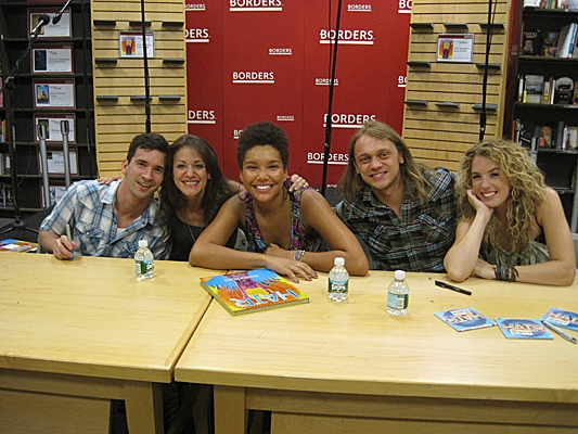 Matt DeAngelis, Paris Remillard, Caren Lyn Tackett, Phyre Hawkins, and Kacie Sheik Photo