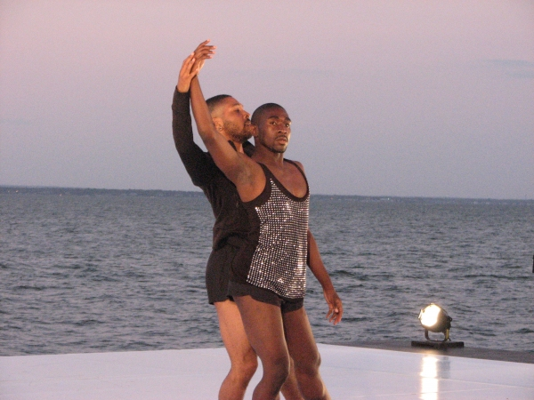 Kyle Abraham at Inside the Fire Island Dance Festival