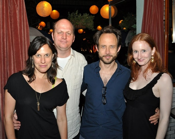 Stephanie Janssen, Steven Dykes, Alex Draper and Megan Byrne  at PTP/NYC Opens VICTORY