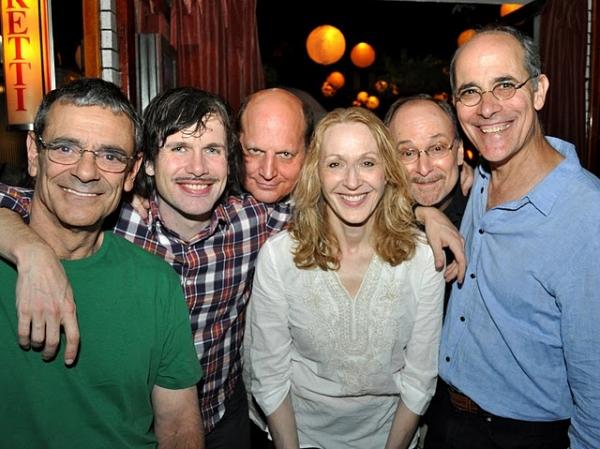Richard Romagnoli, David Barlow, Steven Dykes, Jan Maxwell, Robert Zukerman and Robert Emmet Lunney