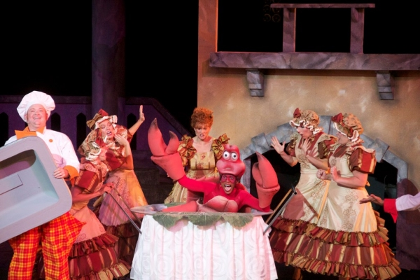Lawrence Cummings (Sebastian), Tim Roberts, Kim Sava, Alyssa M. Simmons, Jennifer Stone (Carlotta), Annie Ramsey and Bridie Carroll