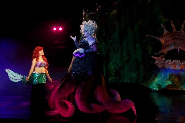 Michelle Pruiett (Ariel), Heidi Anderson (Ursula)