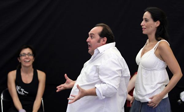Juanma Cifuentes y Maria Rey-Joly