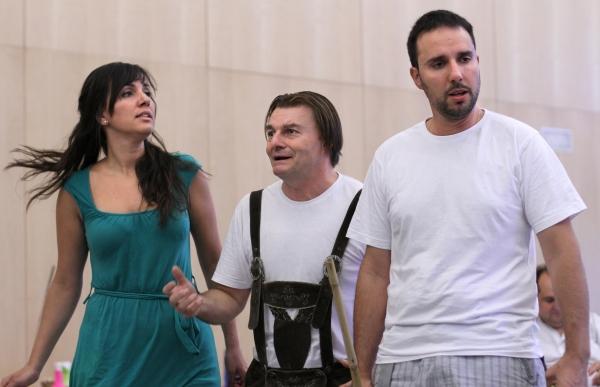 Anna Mateo, Antoni Comas y Cesar San Martin