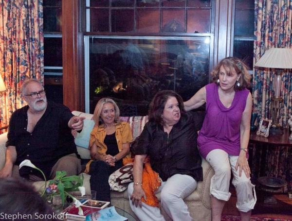 William Finn, Eda Sorokoff, Sheila Richman, Reba Hough Evenchik