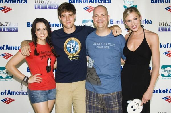 Rachel Potter, Jesse Swenson, Brad Oscar & Stephanie Gibson-Chase  Photo