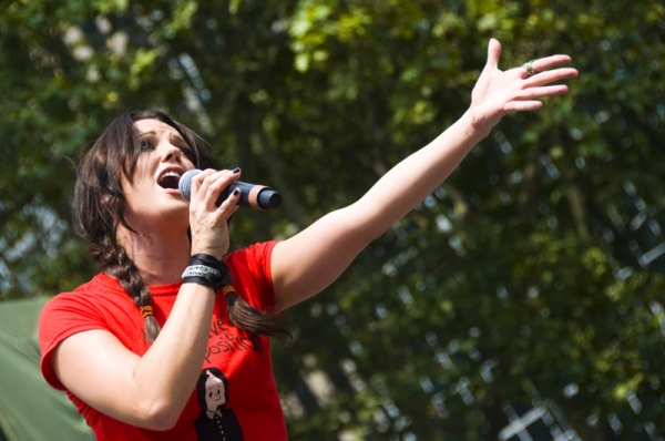 Photo Coverage: ADDAMS FAMILY, MEMPHIS, et al. Perform at Broadway in Bryant Park!