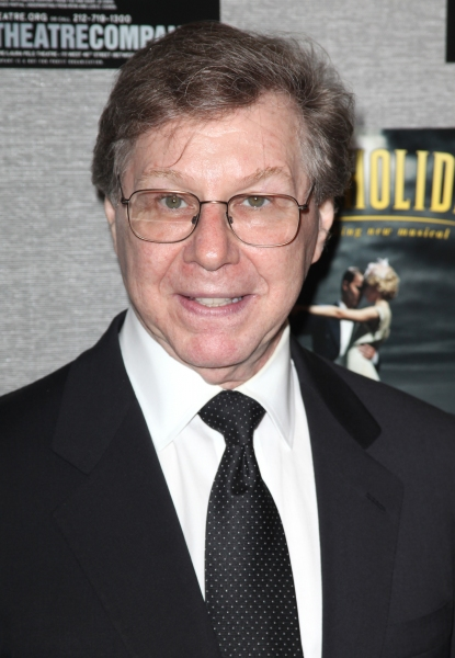 Maury Yeston  at Roundabout's DEATH TAKES A HOLIDAY Opens Off-Broadway!