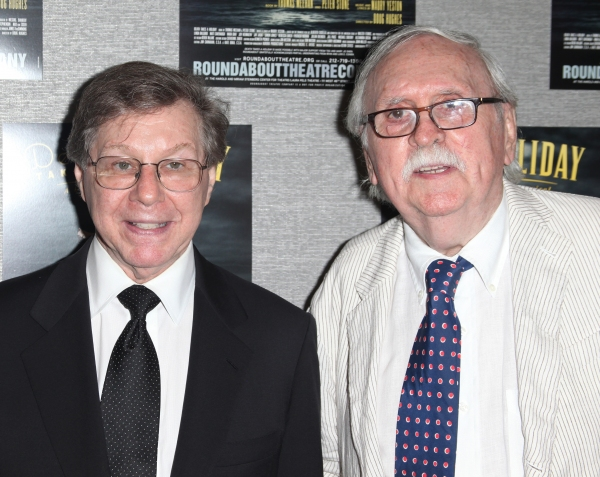 Maury Yeston & Thomas Meehan  at Roundabout's DEATH TAKES A HOLIDAY Opens Off-Broadway!