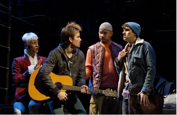Michael Rodriguez, Matt Shingledecker, Nicholas Christopher and Adam Chanler-Berat