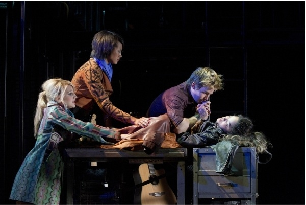 Photo Flash: RENT at New World Stages!