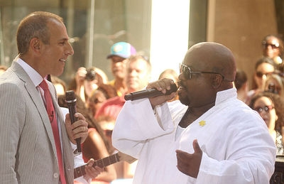 'Today' co-host Matt Lauer and singer Cee Lo Green