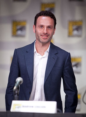 ANDREW LINCOLN at WALKING DEAD At Comic Con