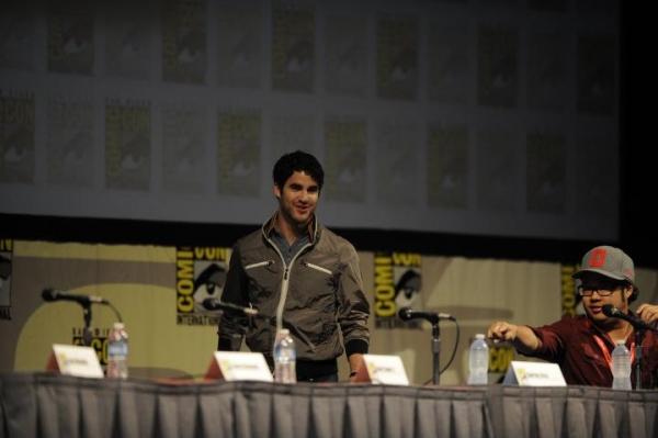 Darren Criss and GLEE IN 3D director Evin Tancharoen