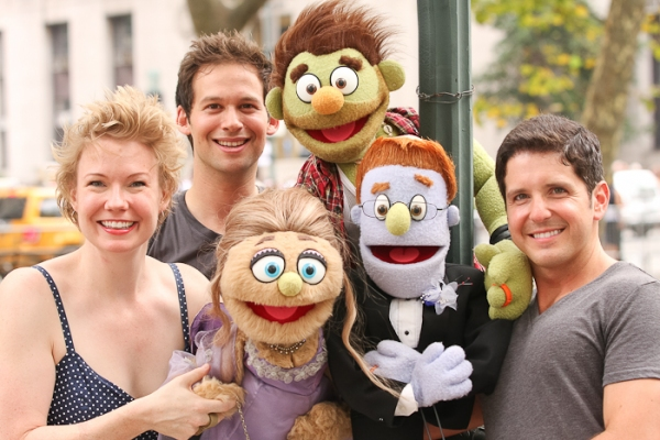 Jen Barnhart, Jed Resnick, Howie Michael Smith with Rod, Ricky, and Maid of Honor Kat Photo