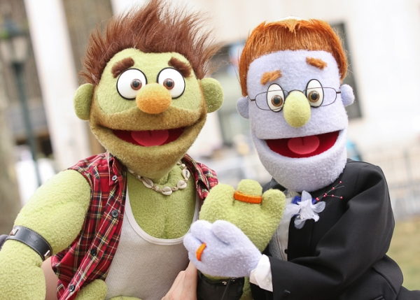 Photo Coverage: AVENUE Q's Gay Couple 'Rod' & 'Ricky' Wed in NYC