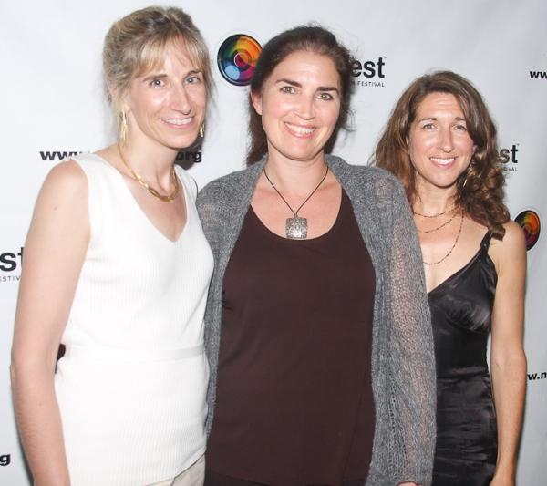 Elisabeth Sperling, Maria Mileaf and Trish Dalton